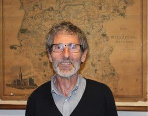 County Archivist, Steve Hobbs